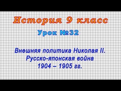 Видеоурок русско японская война 9 класс