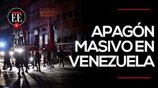 Las consecuencias del apagón en Venezuela | El Espectador