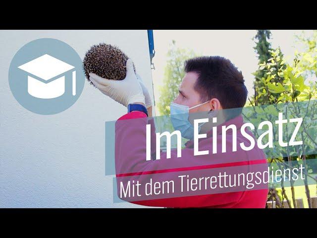 Im Einsatz - Mit dem Tierrettungsdienst Winkel.