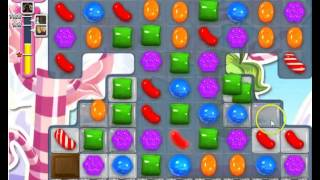 Candy Crush Saga Level 496 Basic Strategy