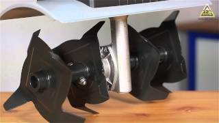 видео Культиватор электрический Gardena EH 600/36 02415-20.000.00