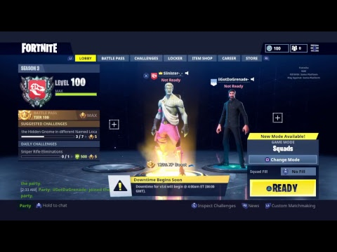 (Fortnite 1k Sub Celebration Live Stream) With Runikgaming And iigotdagrenade-