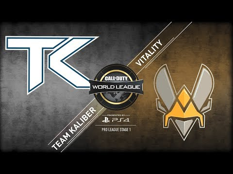 Vitality vs Team Kaliber | CWL Pro League  | Stage 1 | Week 5 | Day 2