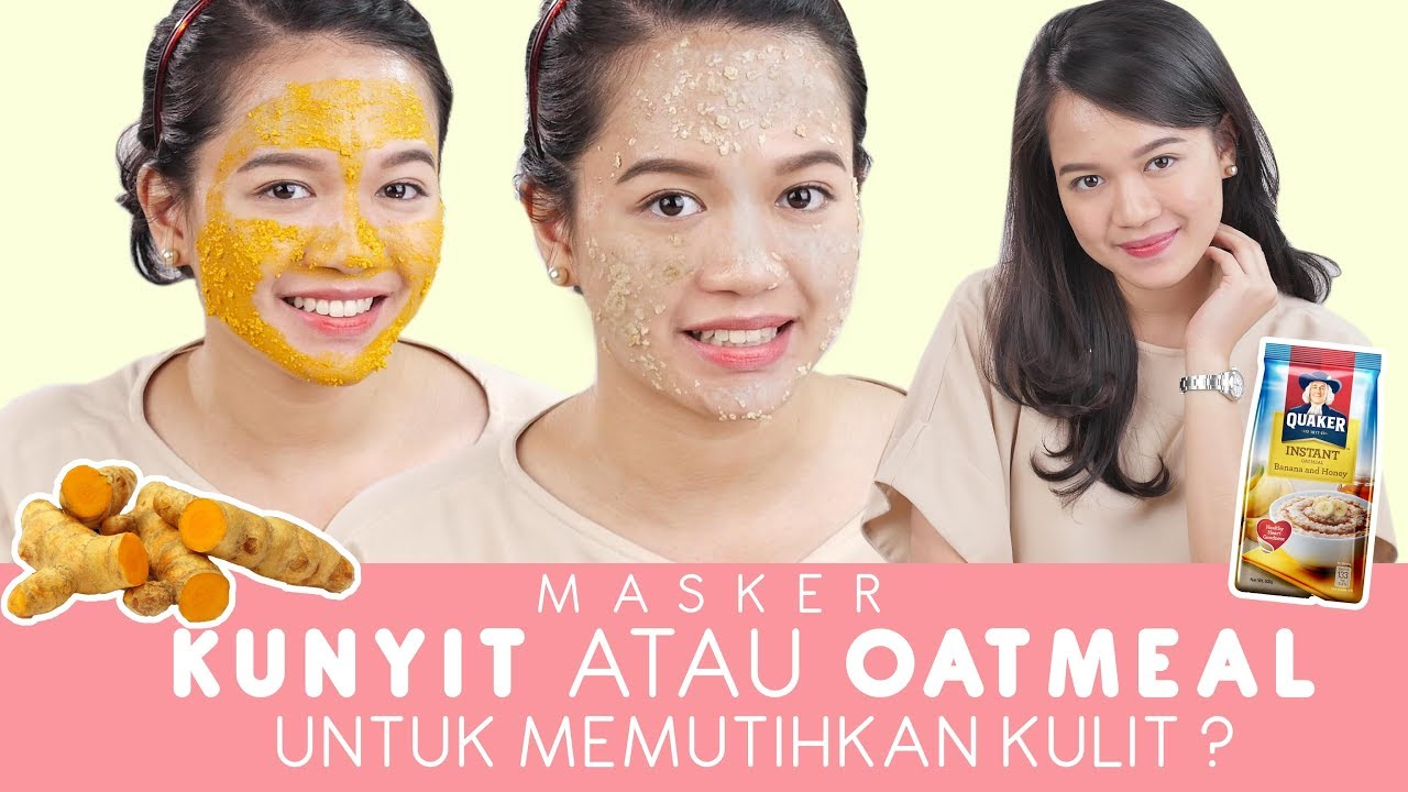 Masker Oatmeal Bikin Wajah Jadi Putih Ini Dia Hasilnya Youtube