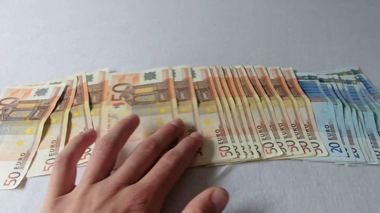 1000 EURO WERTGUTSCHEIN GEWONNEN