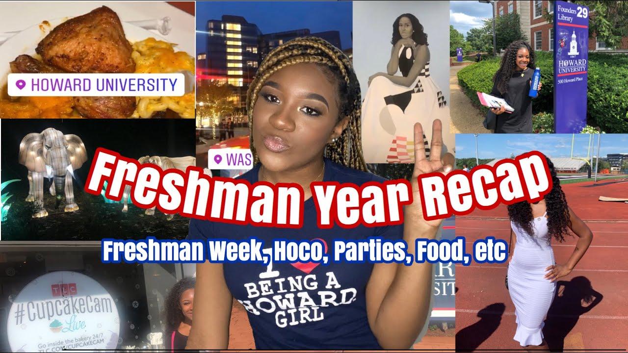 My Freshman Year Recap + Footage | Homecoming, Parties, Food | Howard University | Zakia Tookes