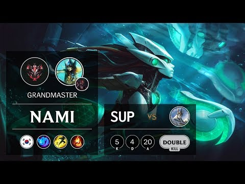 Nami Support vs Galio - KR Grandmaster Patch 9.11