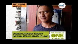 One Mindanao: Barangay Kagawad sa Davao City, Nakuhaan og Shabu, Granada ug Armas