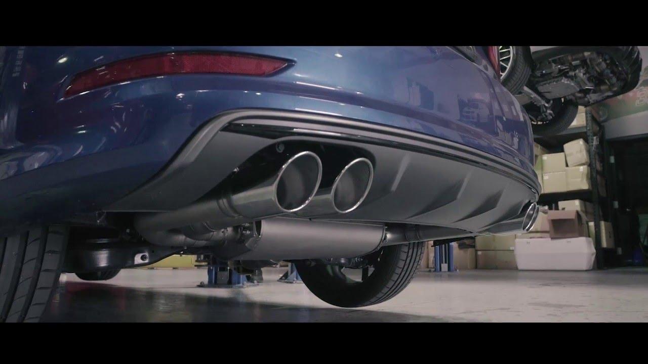 Remus Audi S3 Catback vs Stock Sound Clip