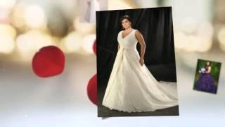 Свадебные платья для полных женщин 2015