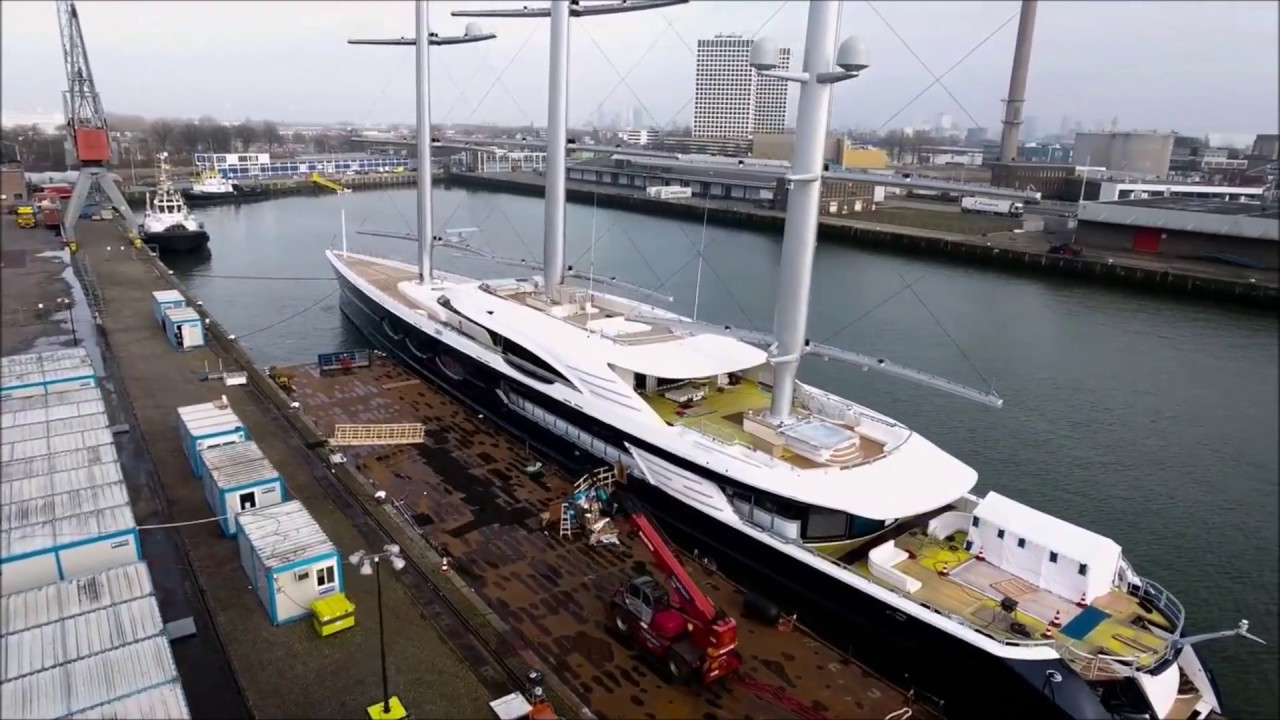 Last year's throwback of Oceanco's Black Pearl