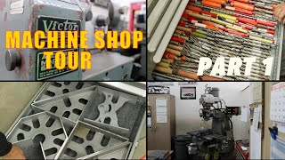 Awesome! Machine Shop Tool Collection Tour Part 1 Reid's Shop Fireball tool