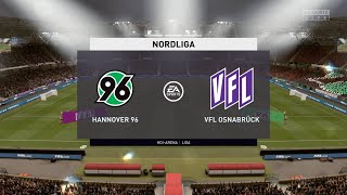 Fifa 20 nordliga hannover 96 vs vfl ...