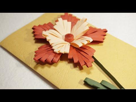 DIY Ideas | Paper Quilling Designs on Cards | HandiWorks #77