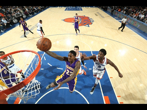 Lou Williams at Knicks (06/02/2017) - 22 Pts, 4 Ast, 6-11 FGM, 3-5 Threes, Sixth Man Of The Year!