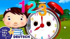 Wie viel Uhr ist es? Uhrzeit lesen | Kinderlieder | Little Baby Bum Deutsch | Cartoons für Kinder