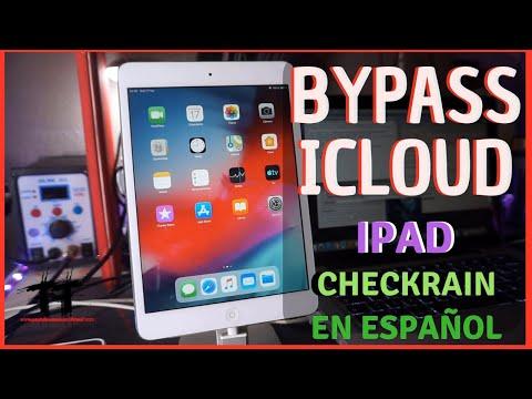 Saltar ICloud   Cloud Bypass Con CHECKRA1N    IPad  