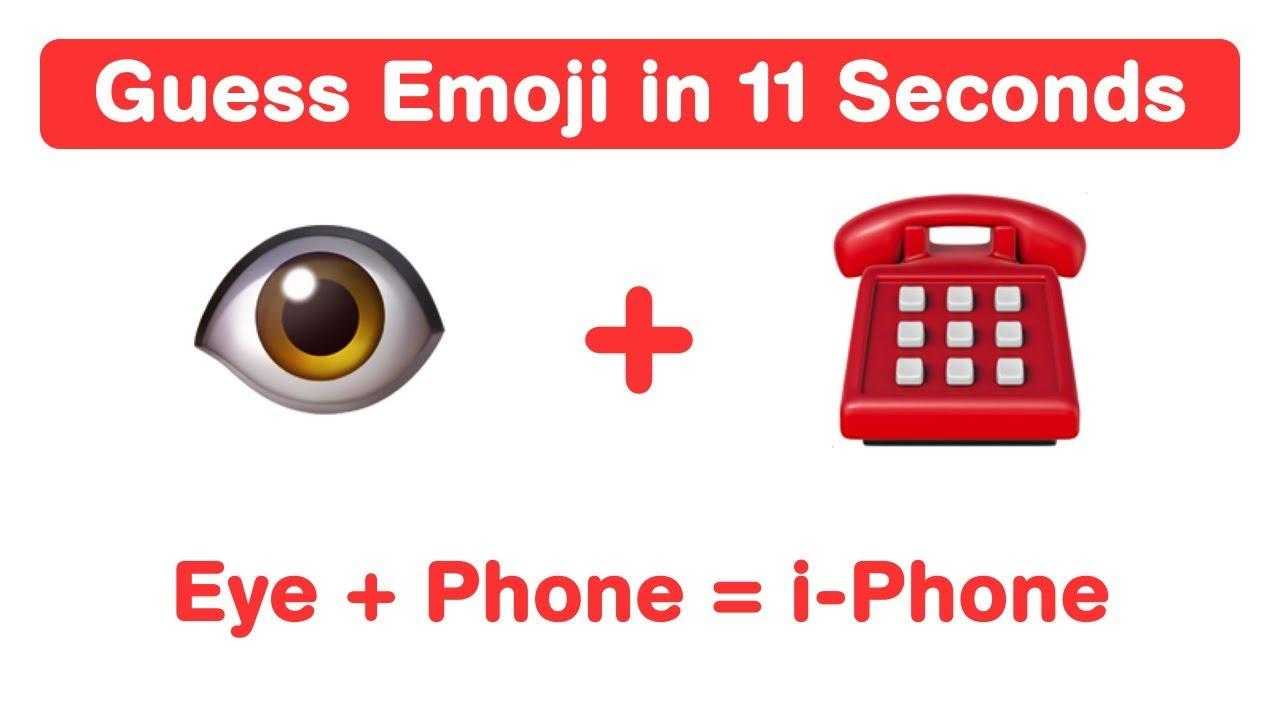 11 Second Riddles Emoji Guess The Emoji Challenge English Word Game