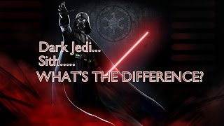 Dark Jedi and Sith - What