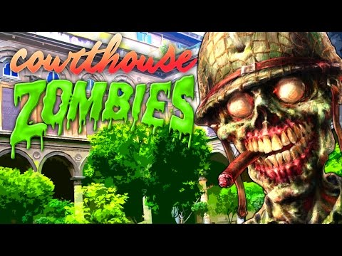 Courtyard Custom Zombies (Call of Duty Black Ops 3 Zombies)
