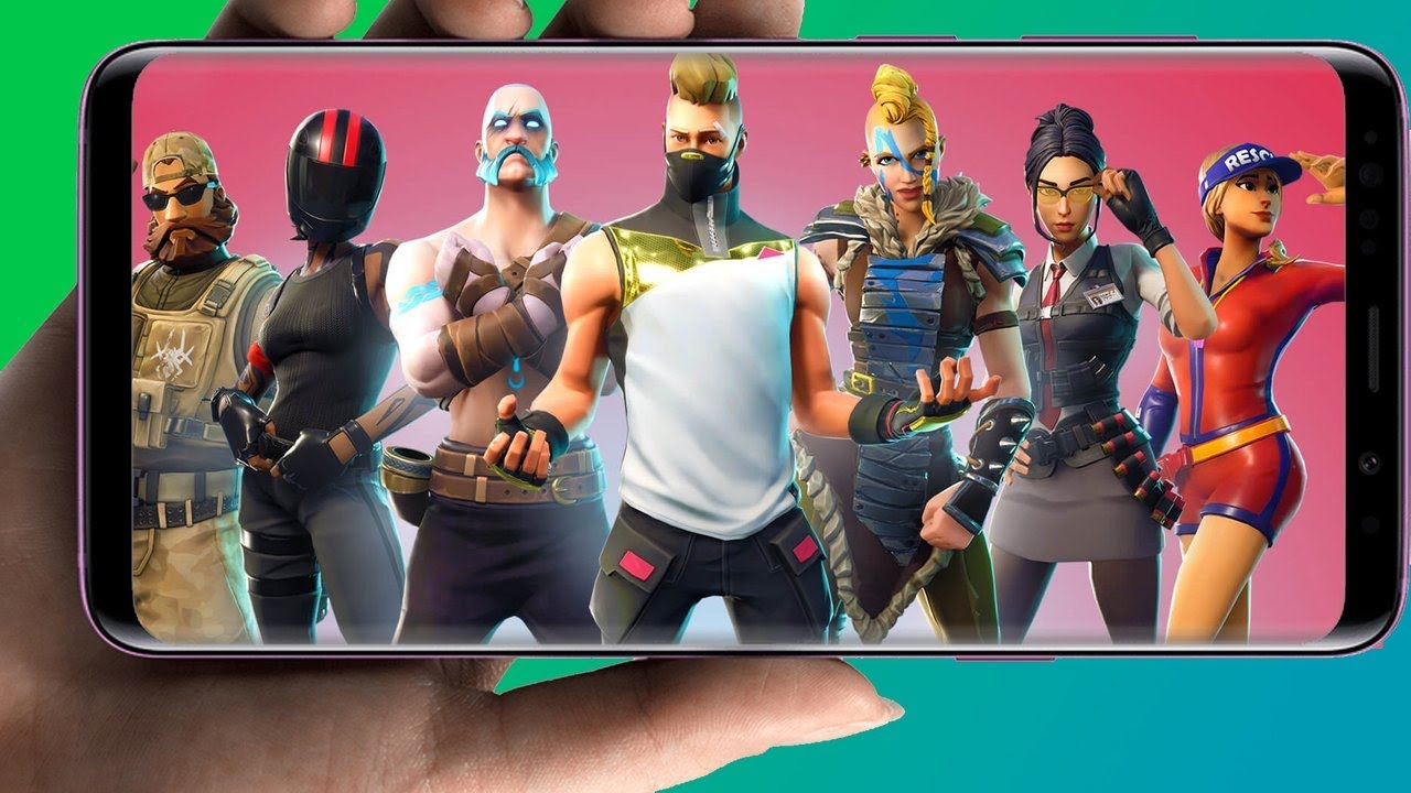 Fortnite on Android Gameplay (Samsung Galaxy S9) - IGN Plays