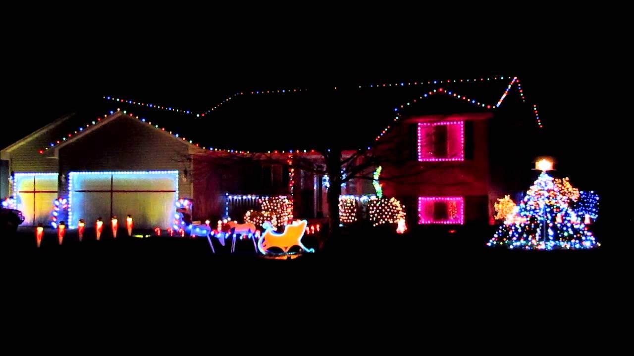 Star Wars Christmas Light Show - YouTube