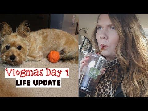 Vlogmas Day 1 | Life Update, My Everyday Makeup + Target & TJ Maxx Haul!