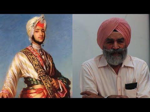 GURTEJ SINGH (IAS) During Conference Seeking Remains of Maharaja Duleep Singh