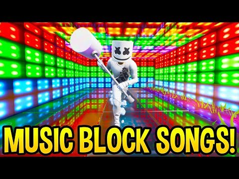 *AMAZING* Fortnite SONG CREATIONS Using the *NEW* Music Blocks! (Creative Mode) Mp3