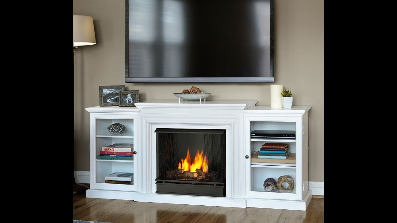 fireplace entertainment center youtube