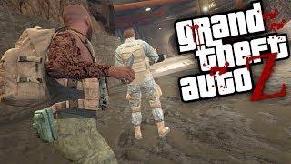 GTA V ZOMBIES - Os MILITARES ATACARAM nossa BASE #05 (GTA 5 MOD Survival Zombie)