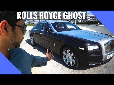 I got the Roll Royce Ghost in Dubai!