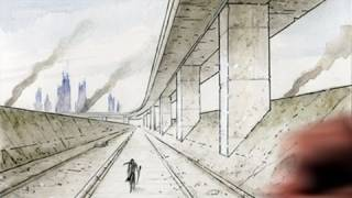 How to Draw Backgrounds (1-point Perspective)