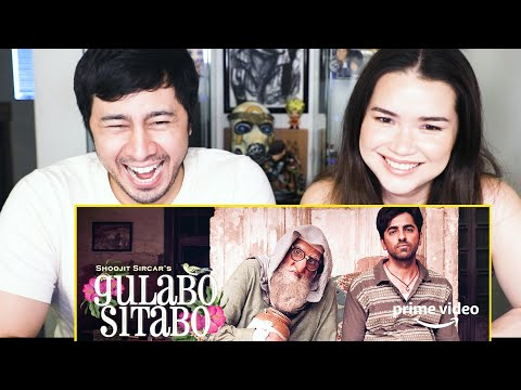 GULABO SITABO | Amitabh Bachchan | Ayushmann Khurrana | Shoojit Sircar | Trailer Reaction