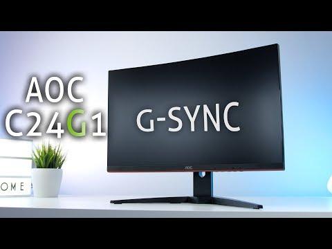 Der BESTE 200€ Monitor - AOC C24G1 G Sync Compatible 144Hz im Test + Bildeinstellungen!