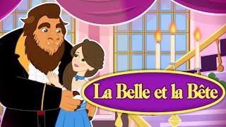 La Belle et la Bête - Dessin animé en français avec les P