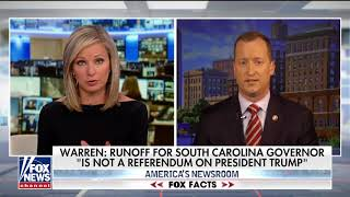 SC Gov Candidate Warren: Election Is About McMaster's Failures