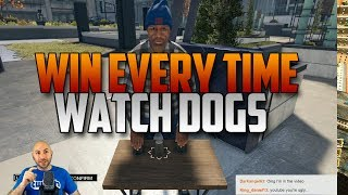 Watch Dogs - How To Win The Shell Game EVERY TIME - Yes, by cheating.