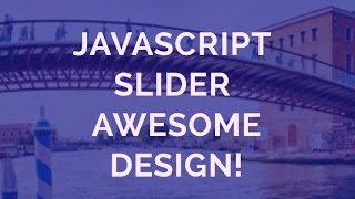 Demo Javascript Slider - Awesome Design! thumbnail