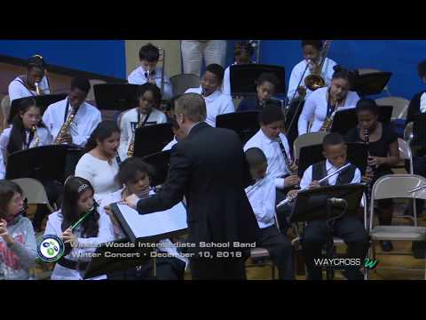 Winton Woods Intermediate School Band Concert of December 17, 2018