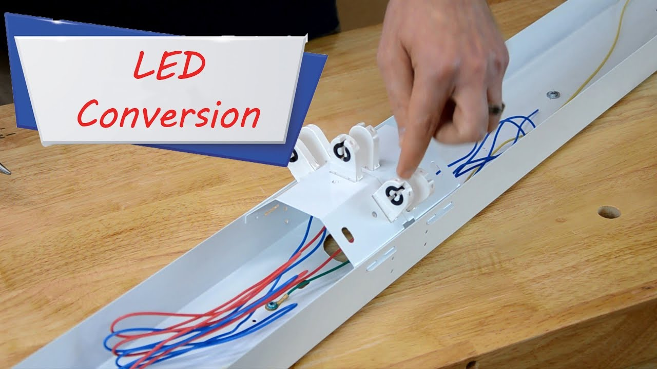 How to easily convert fluorescent Lights to LED –Easy Ways
