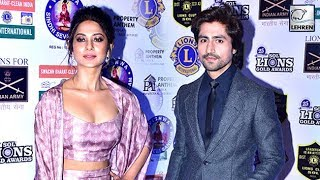 Jennifer Winget And Harshad Chopra's Interview At Lions Gold Awards