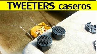 Como conectar tweeters al stereo del auto (facil y lo mas barato posible)