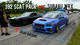 Scat Pack Challenger vs Subaru WRX, Mustang 5.0, 9th Gen Civic Si, RSX Type S