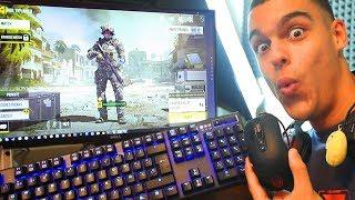 MI PRIMERA PARTIDA de Call Of Duty MOBILE EN PC! - AlphaSniper97