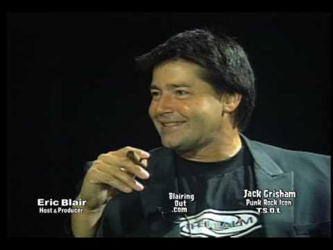 T.S.O.L.'s Jack Grisham talks  w Eric Blair. May, 2001