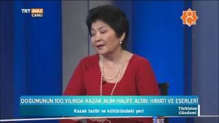 Kazak Alim Halife Altay - Hayatı ve Eserleri (Doğumunun 100. Yılında) - Türkistan Gündemi - TRT Avaz