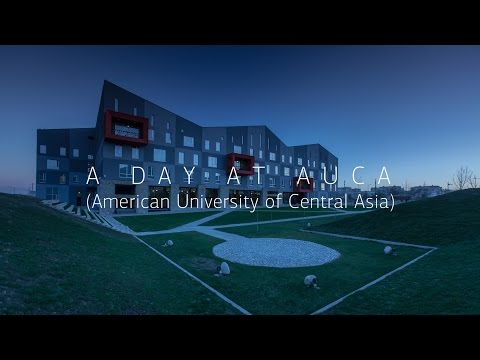 A day at American University of Central Asia