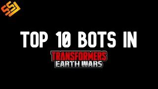 Top 10 bots of TFEW