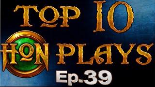 Top 10 HoN Plays - Ep.39 (Christmas Edition)
